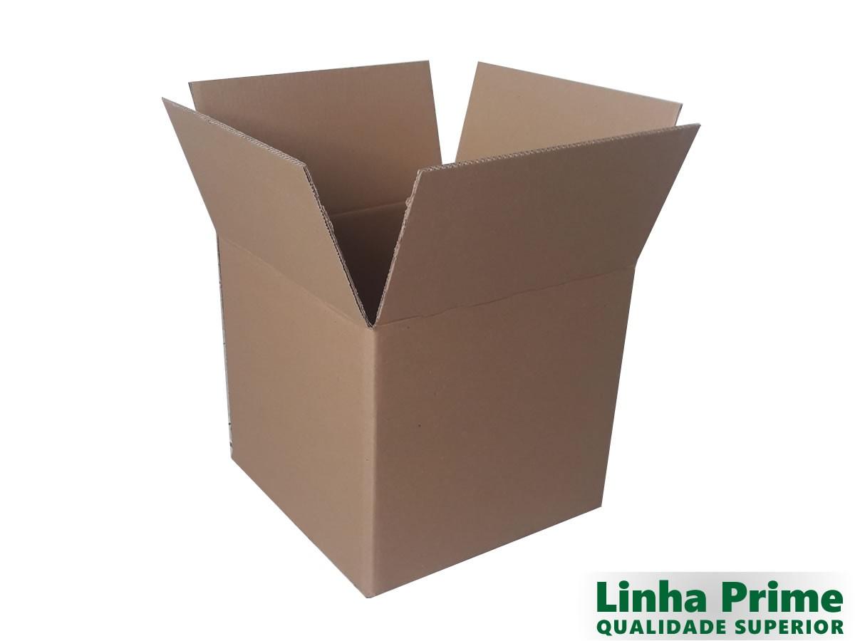 10 Caixas de papelão 37x37x33 cm PRIME - ONDA DUPLA