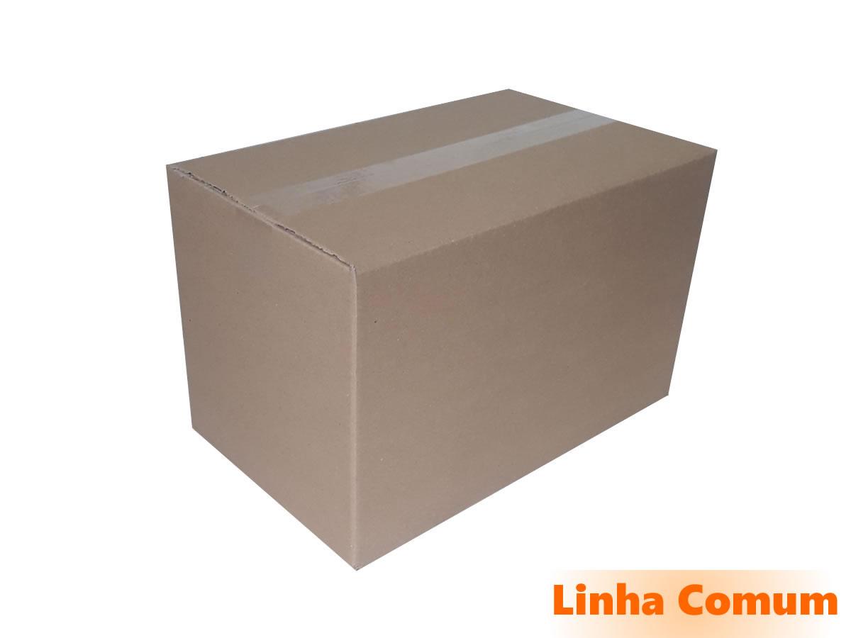 10 Caixas de papelão 40x25x25 cm LINHA COMUM