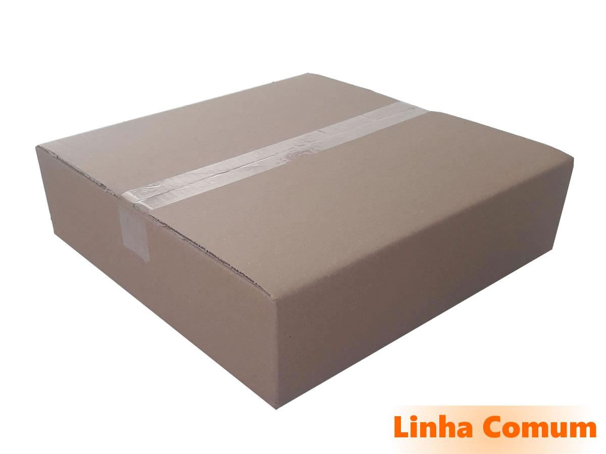 10 Caixas de papelão 40x40x10 cm LINHA COMUM