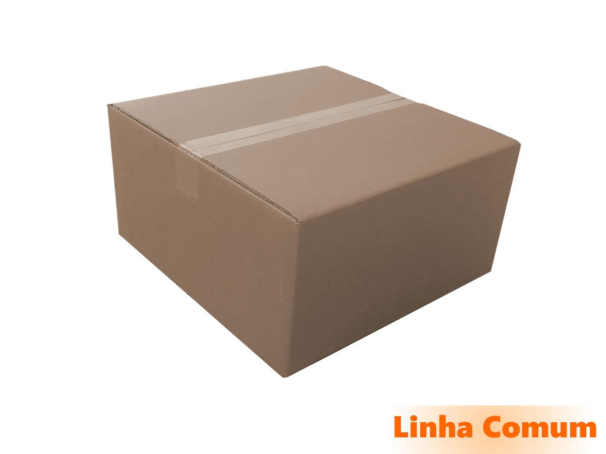10 Caixas de papelão 40x40x20 cm LINHA COMUM