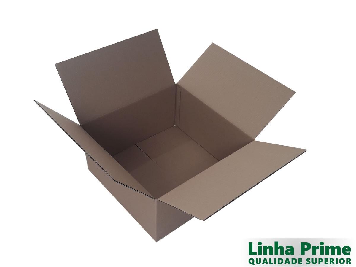 10 Caixas de papelão 40x40x20 cm LINHA PRIME