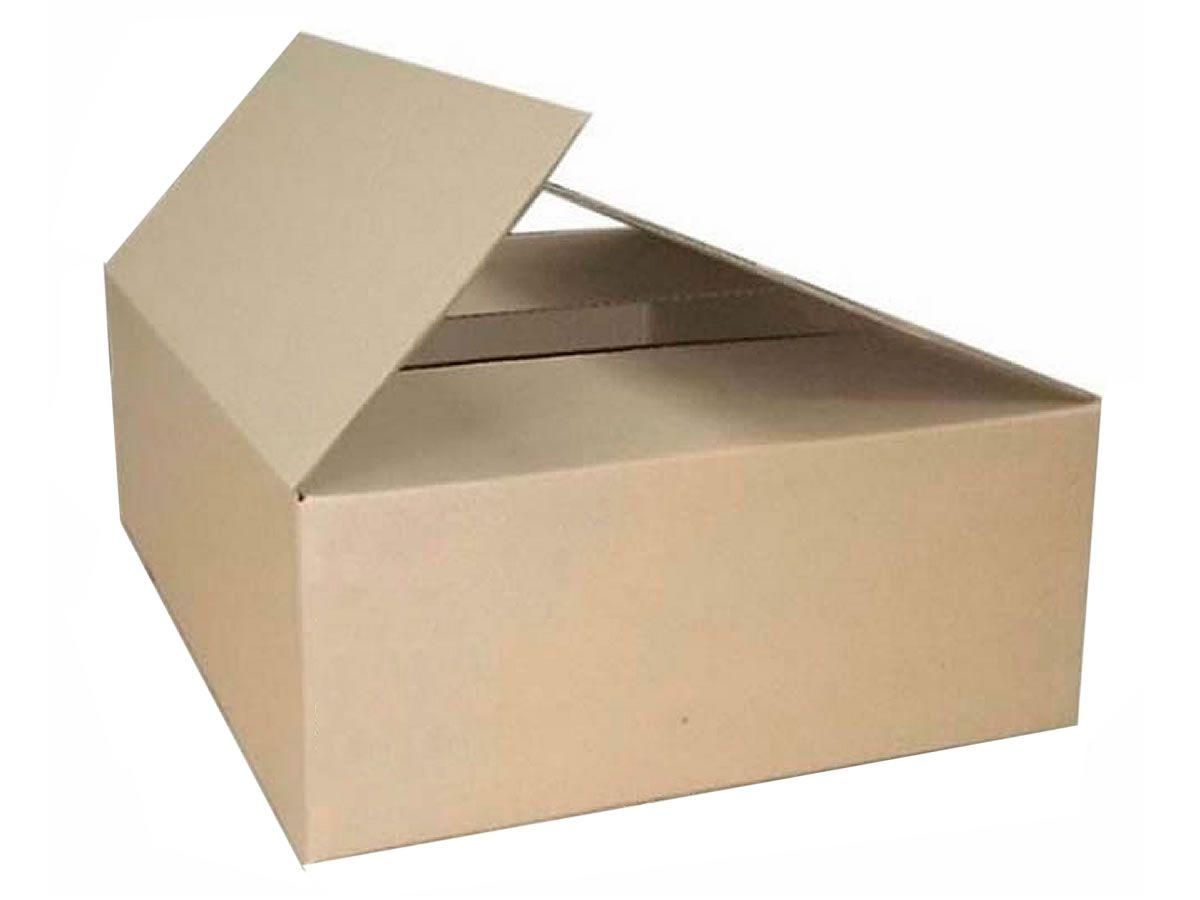 10 Caixas de Papelão 43x43x12 cm para correio e transportes