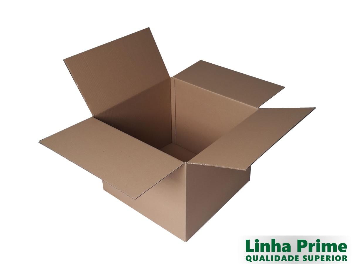 10 Caixas de Papelão 50x50x40 cm LINHA PRIME
