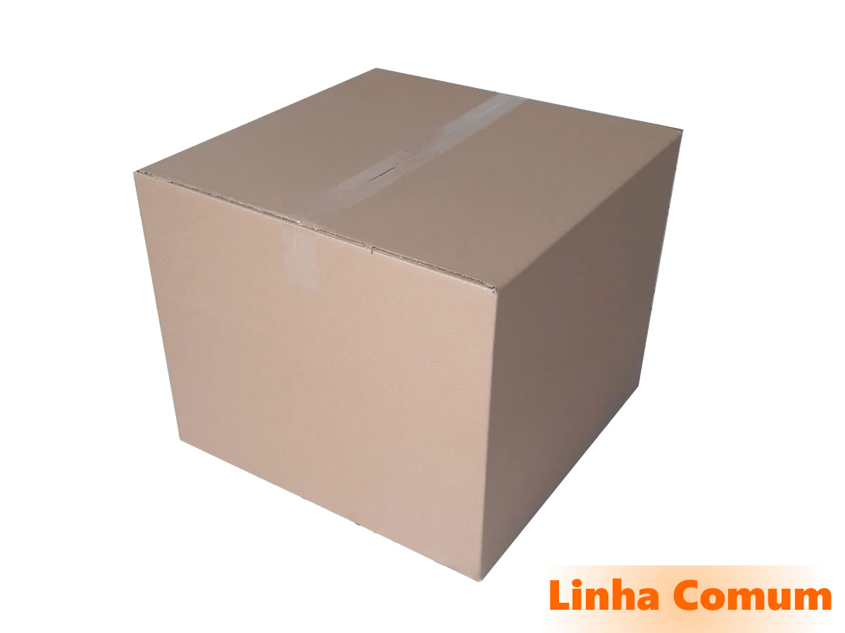 10 Caixas de papelão 50x50x40 cm LINHA COMUM