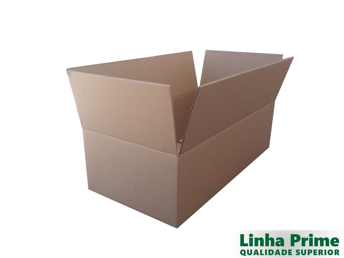 10 caixas de papelão 60x30x17,5 cm LINHA PRIME