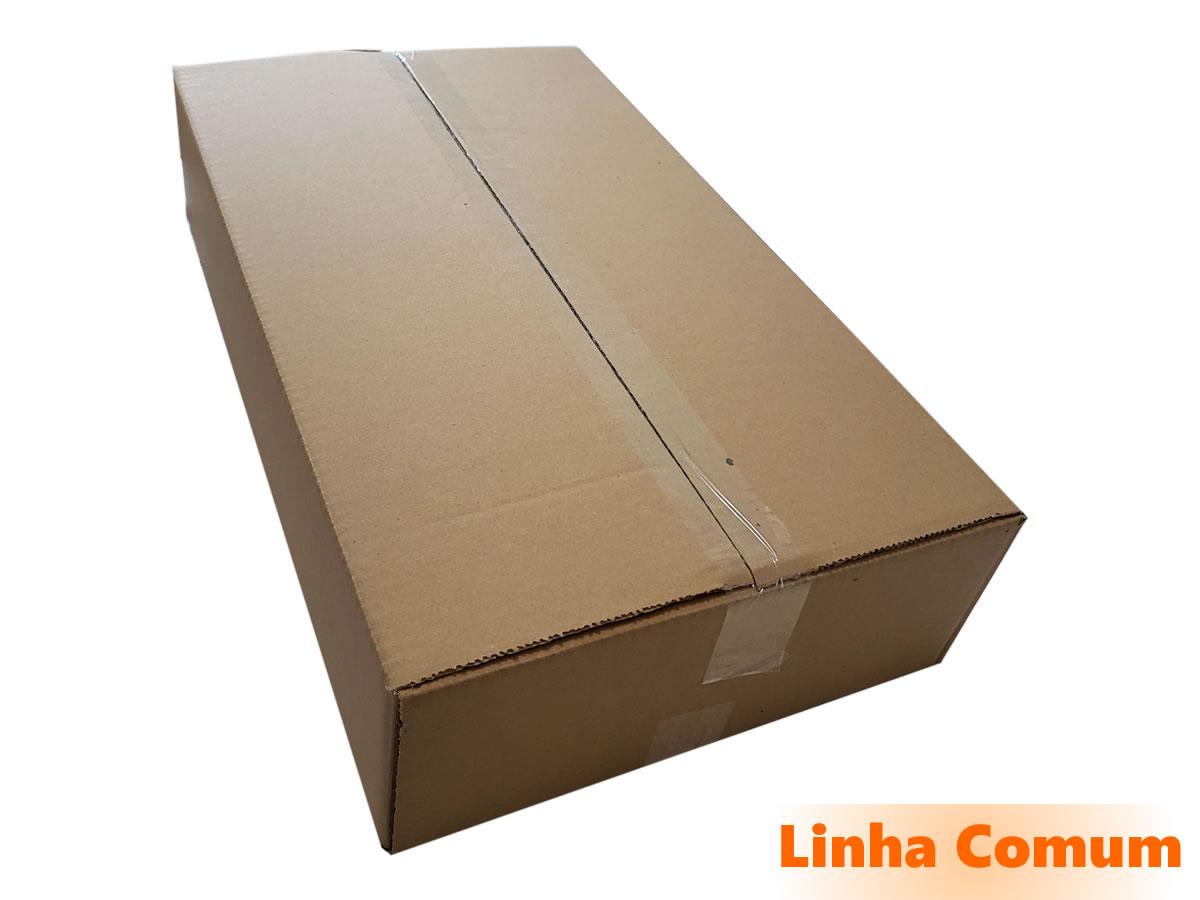 10 Caixas de Papelão 60x35x12,5 cm - LINHA COMUM