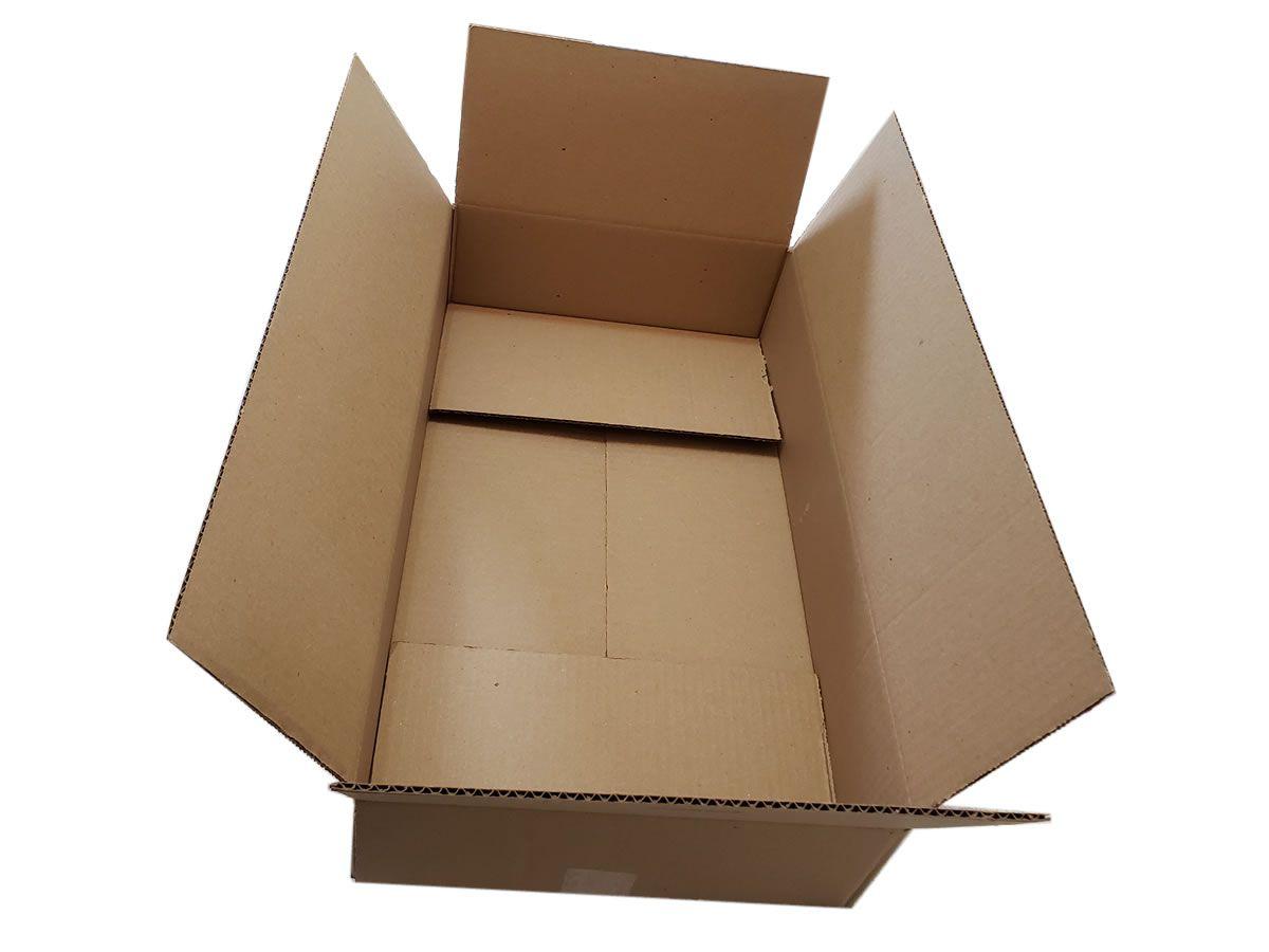 10 Caixas de papelão 60x35x12,5 cm - PRIME