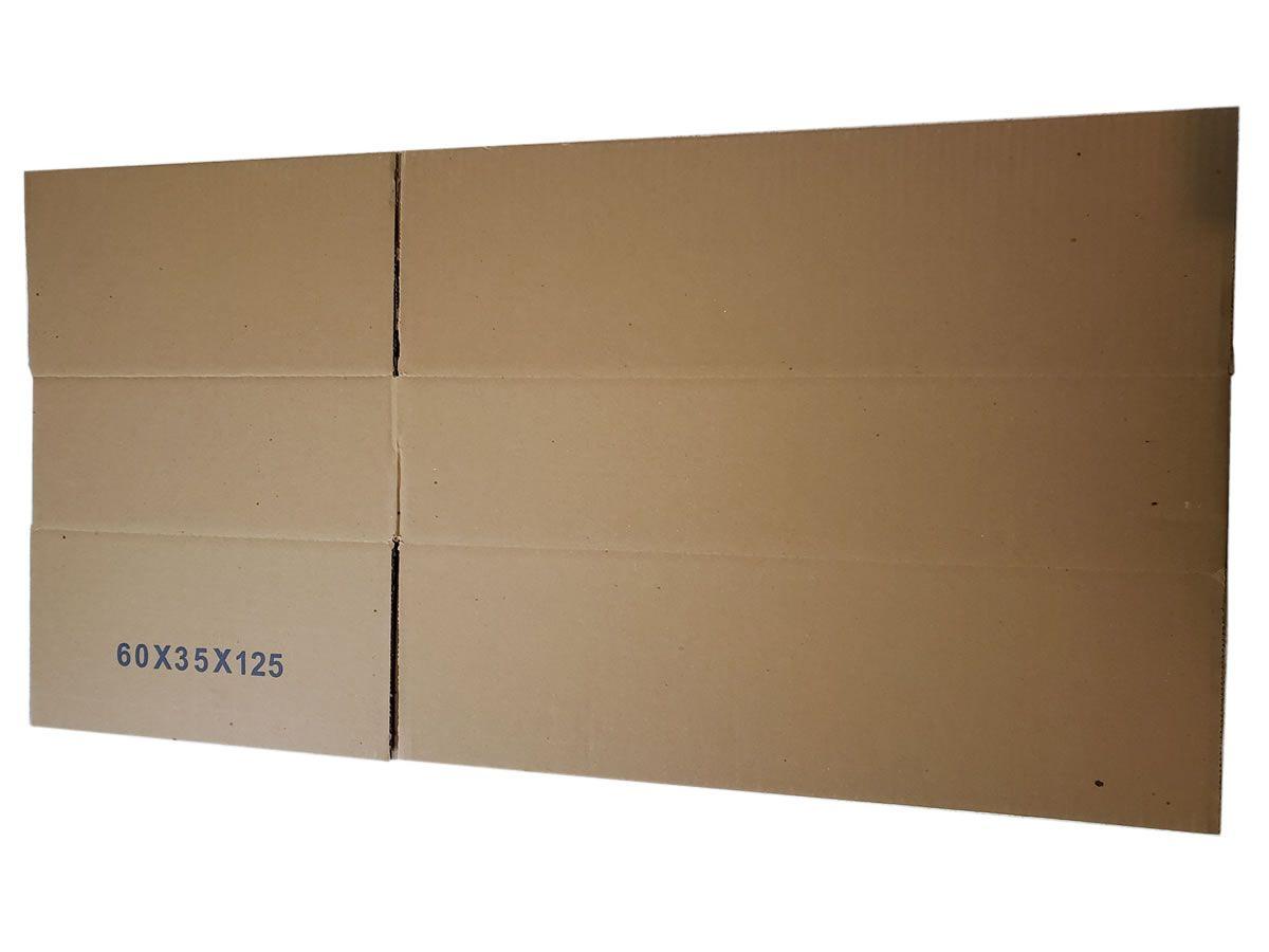 10 Caixas de papelão 60x35x12,5 cm - LINHA PRIME