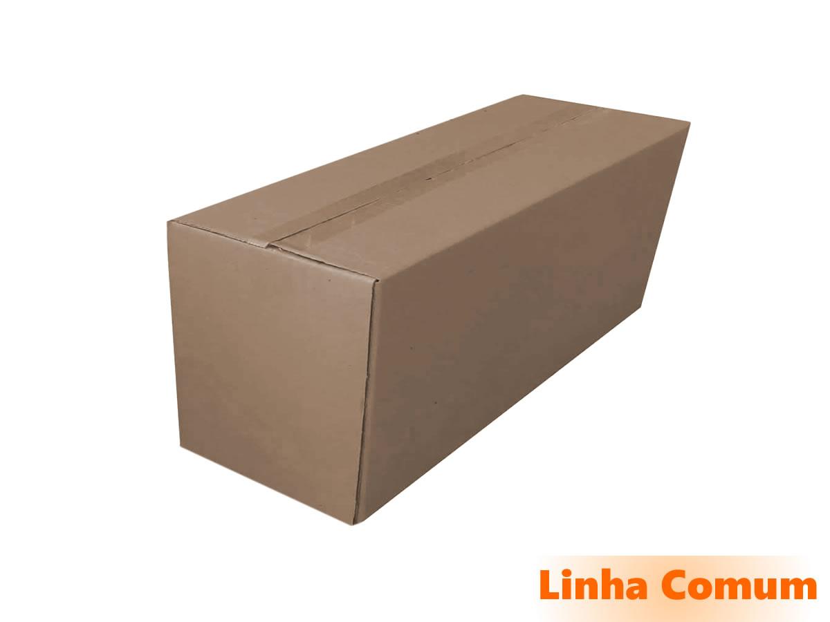 10 Caixas de Papelão 61x21x32 cm LINHA COMUM