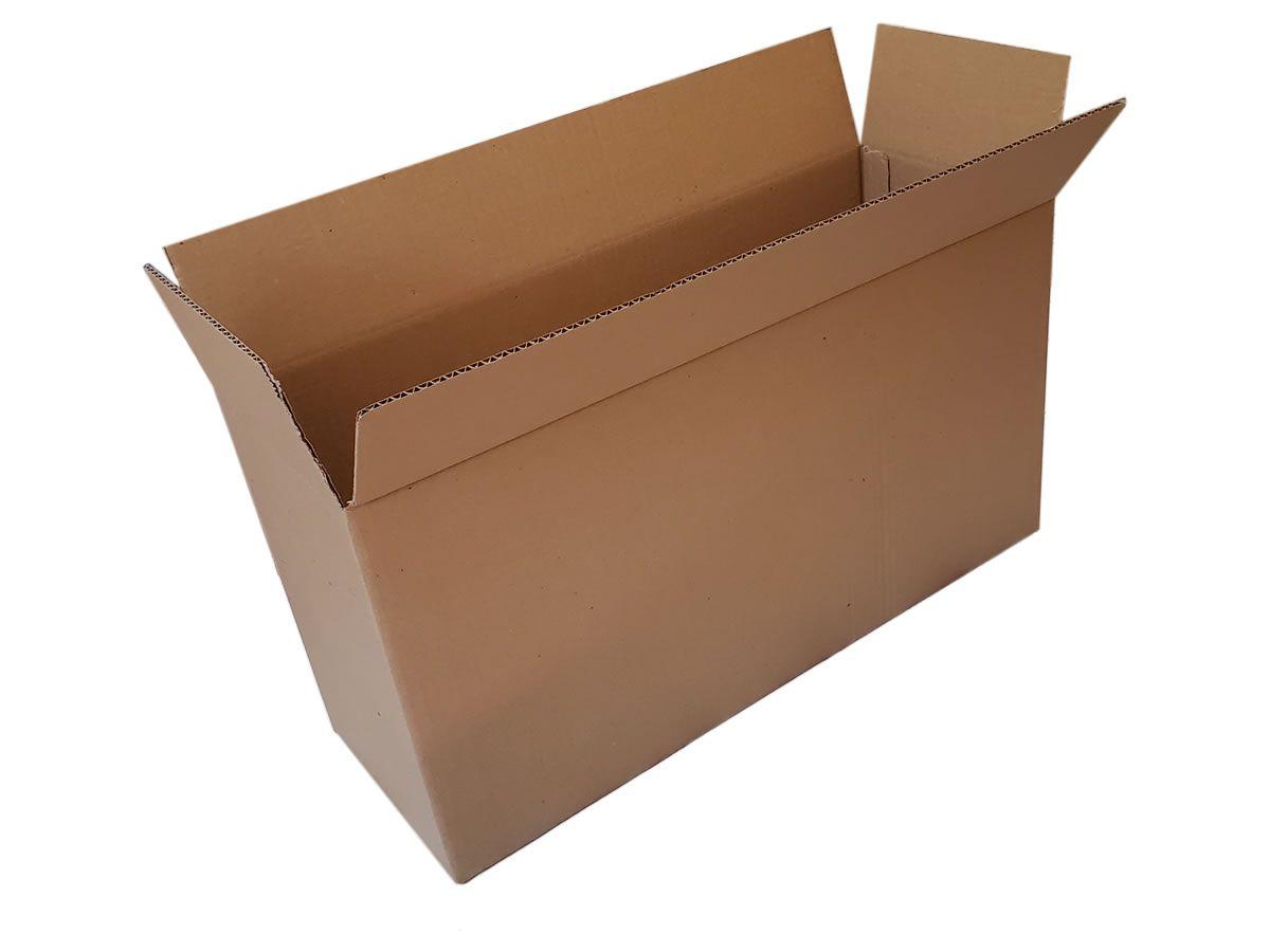 10 Caixas de Papelão 61x21x32 cm para correio e transportes