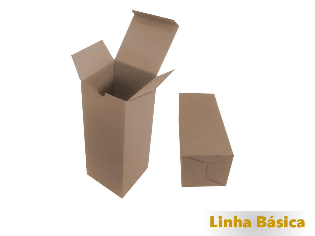 25 Caixas de Papelão 10x10x25 cm - LINHA BÁSICA
