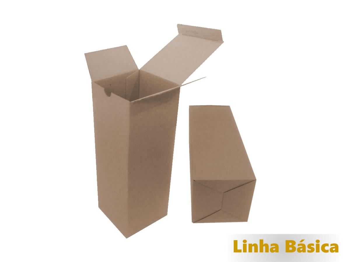 25 Caixas de Papelão 10x10x28 cm - LINHA BÁSICA