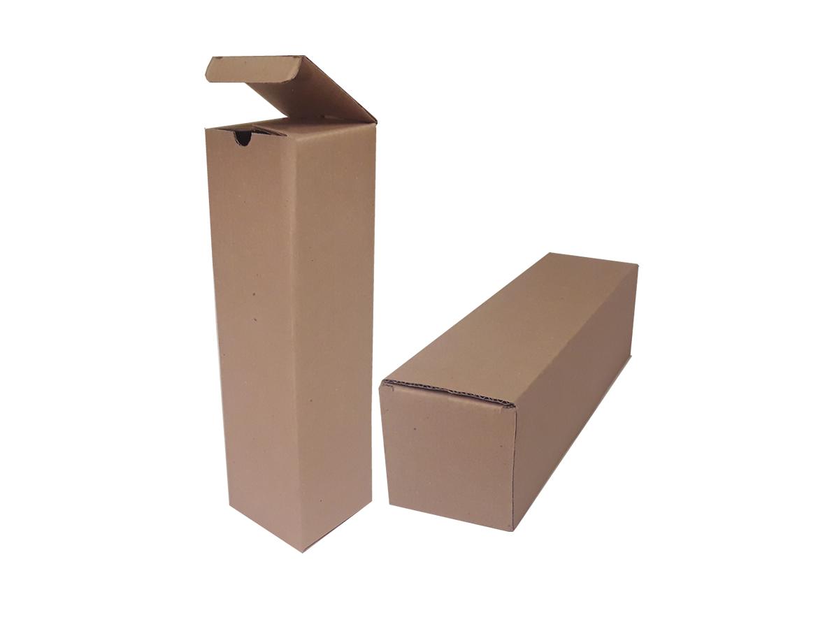 25 Caixas de Papelão 10x10x36 cm - LINHA COMUM