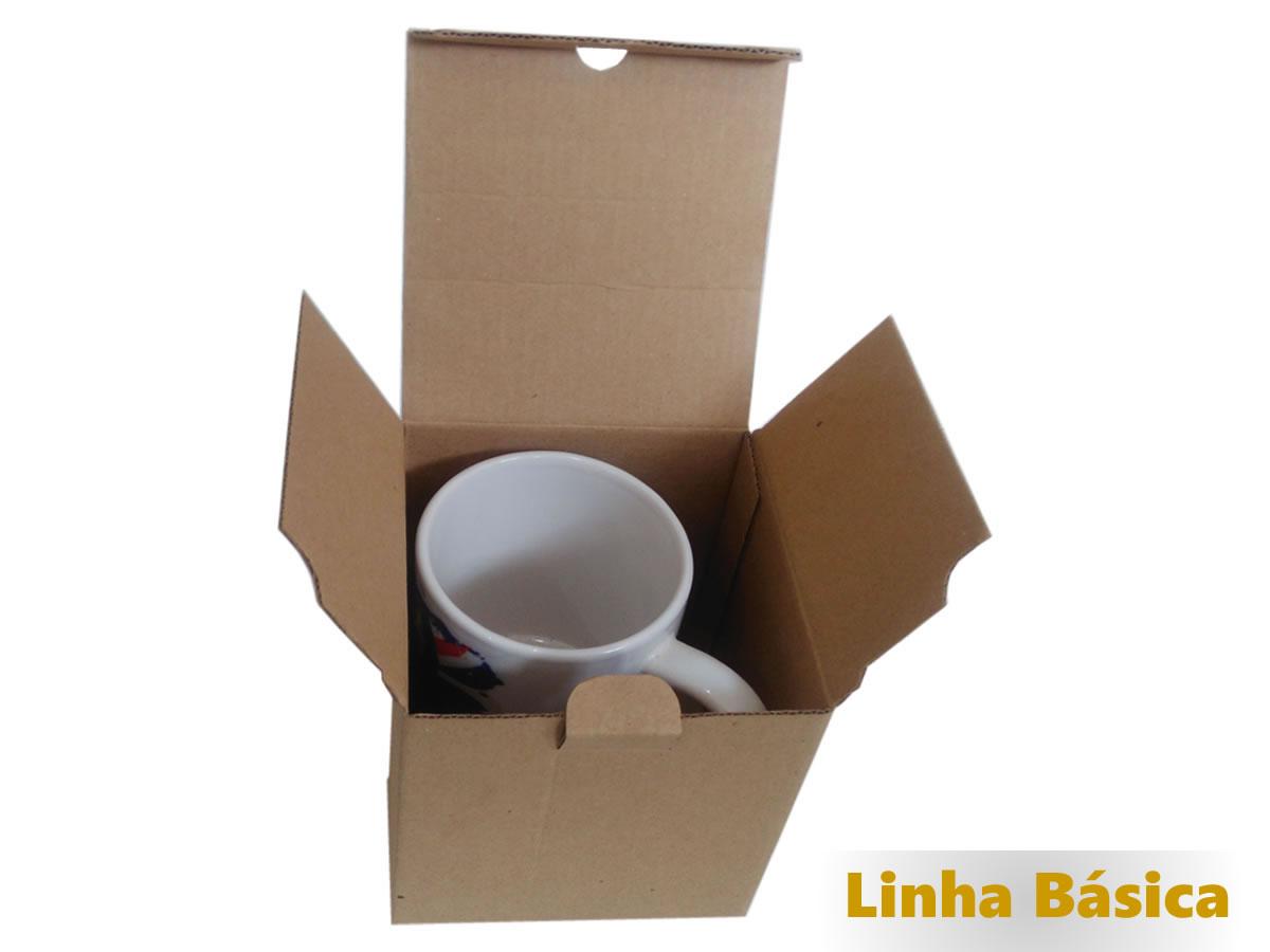 25 Caixas de Papelão 11x11x10 cm - Caneca