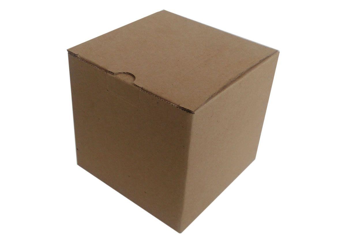25 Caixas de Papelão 11x11x10 cm para Caneca