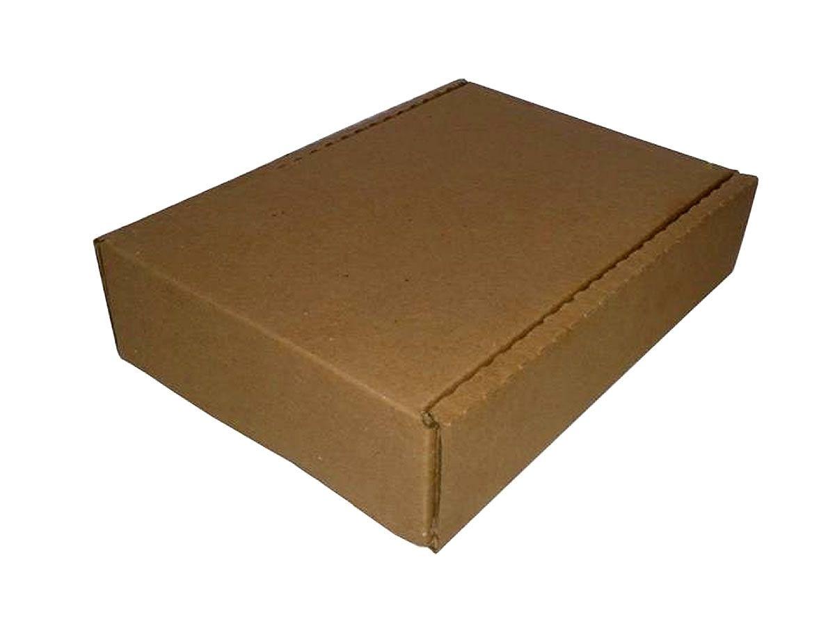 25 Caixas de Papelão 11x20x4,5 cm com berço embutido