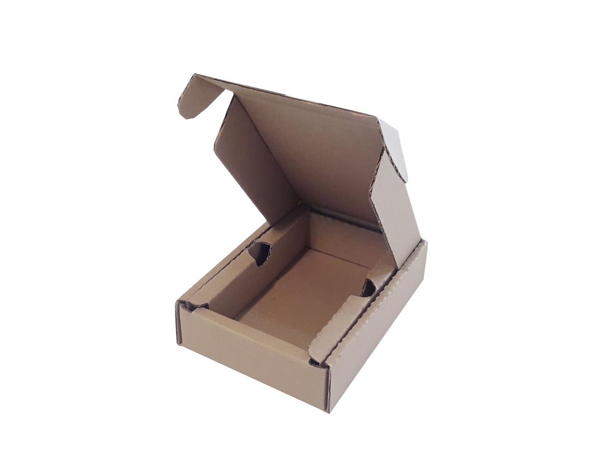 25 Caixas de Papelão 11x20x4,5 cm com berço embutido LINHA COMUM