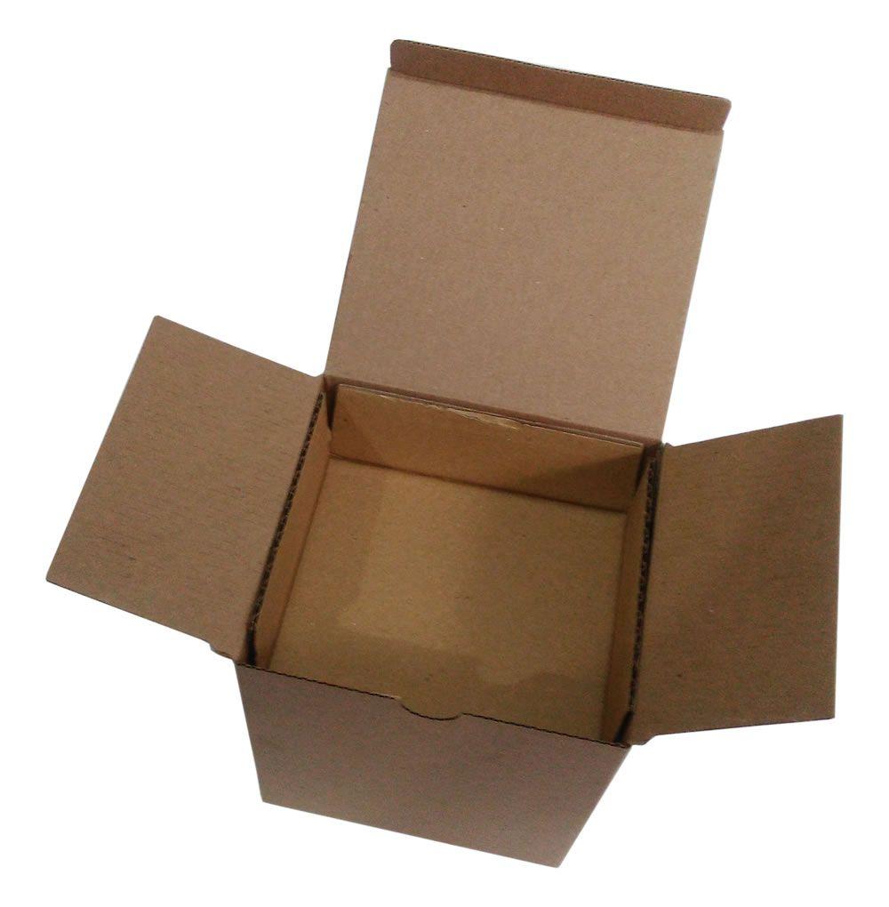 25 Caixas de Papelão 13x12x15 cm com berço para Caneca