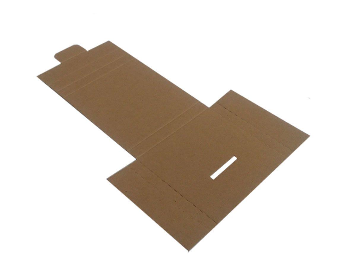 25 Caixas de Papelão 14x13x1,5 cm - carta registrada