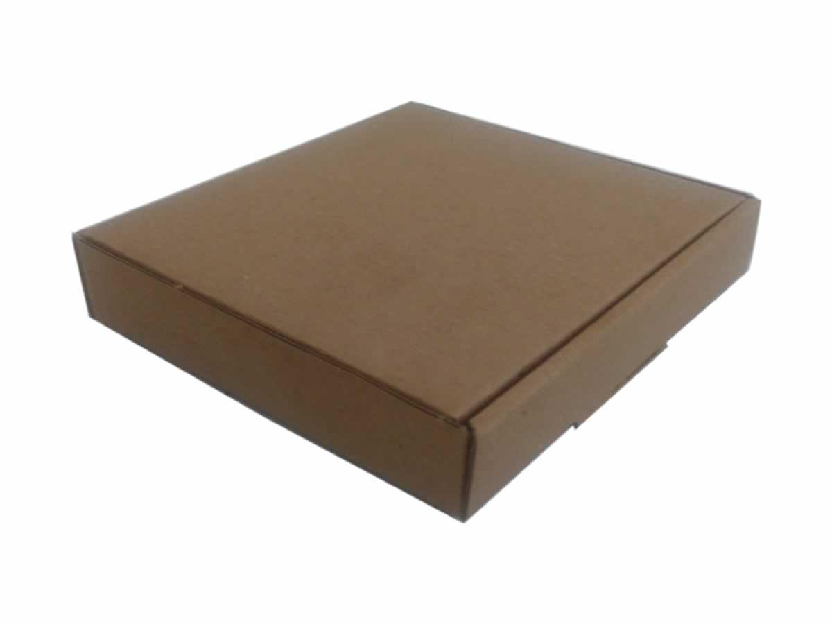 25 Caixas de Papelão 14x13x2,5 cm- carta registrada
