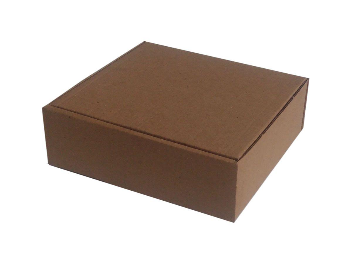 25 Caixas de Papelão 14x13x4,5 cm - carta registrada