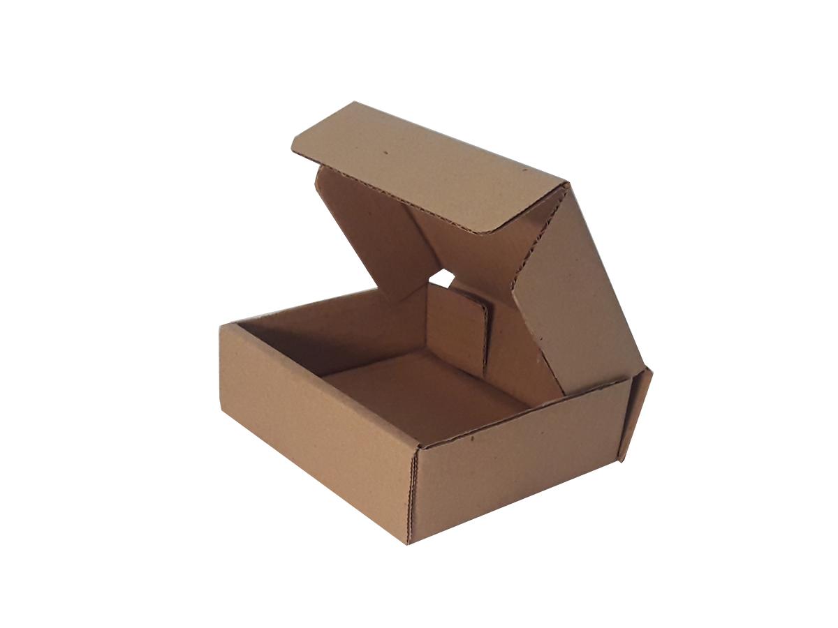 25 Caixas de Papelão 14x13x4,5 cm | LINHA BÁSICA