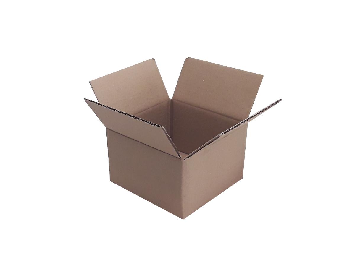 25 Caixas de papelão 15,5x15,5x10 cm LINHA COMUM
