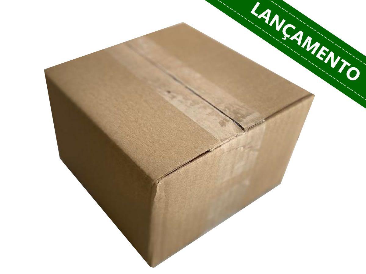 25 Caixas de papelão 15,5x15,5x10 cm para correio e transportes