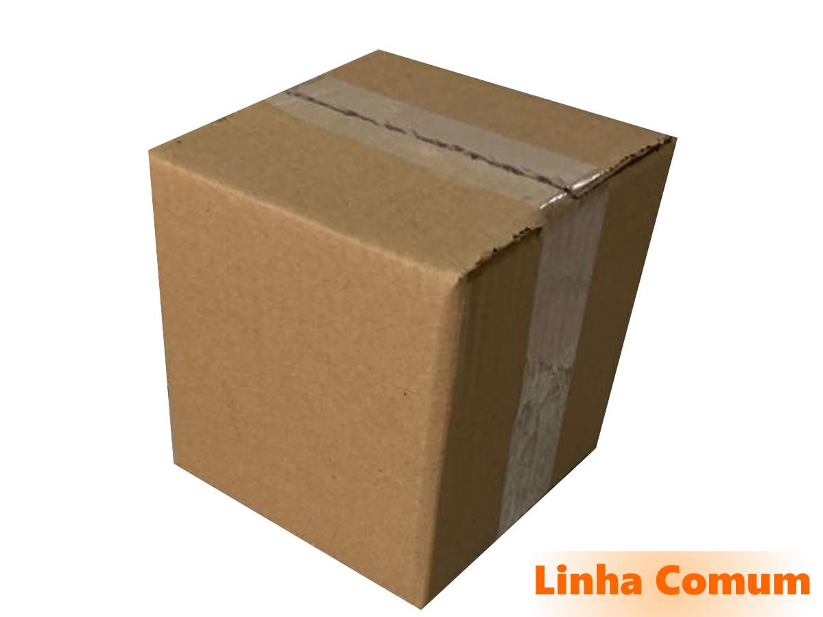25 Caixas de Papelão 15x15x15 cm LINHA COMUM