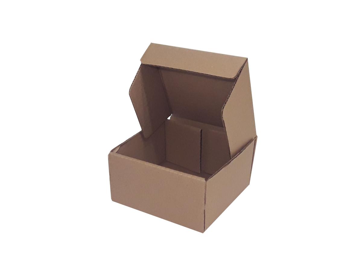 25 Caixas de Papelão 15x15x8 cm LINHA COMUM