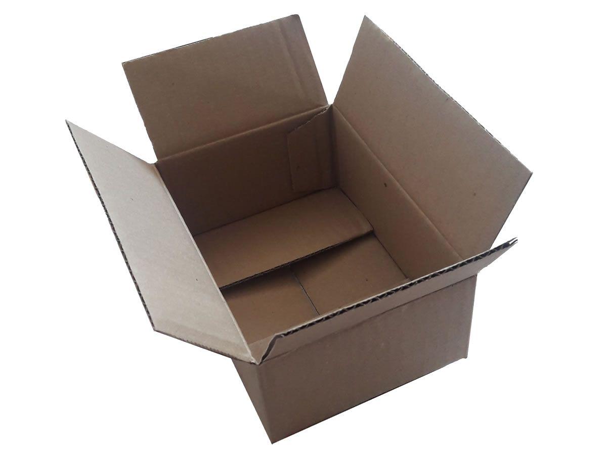 25 Caixas de Papelão 16x11x6 cm para correio e transportes