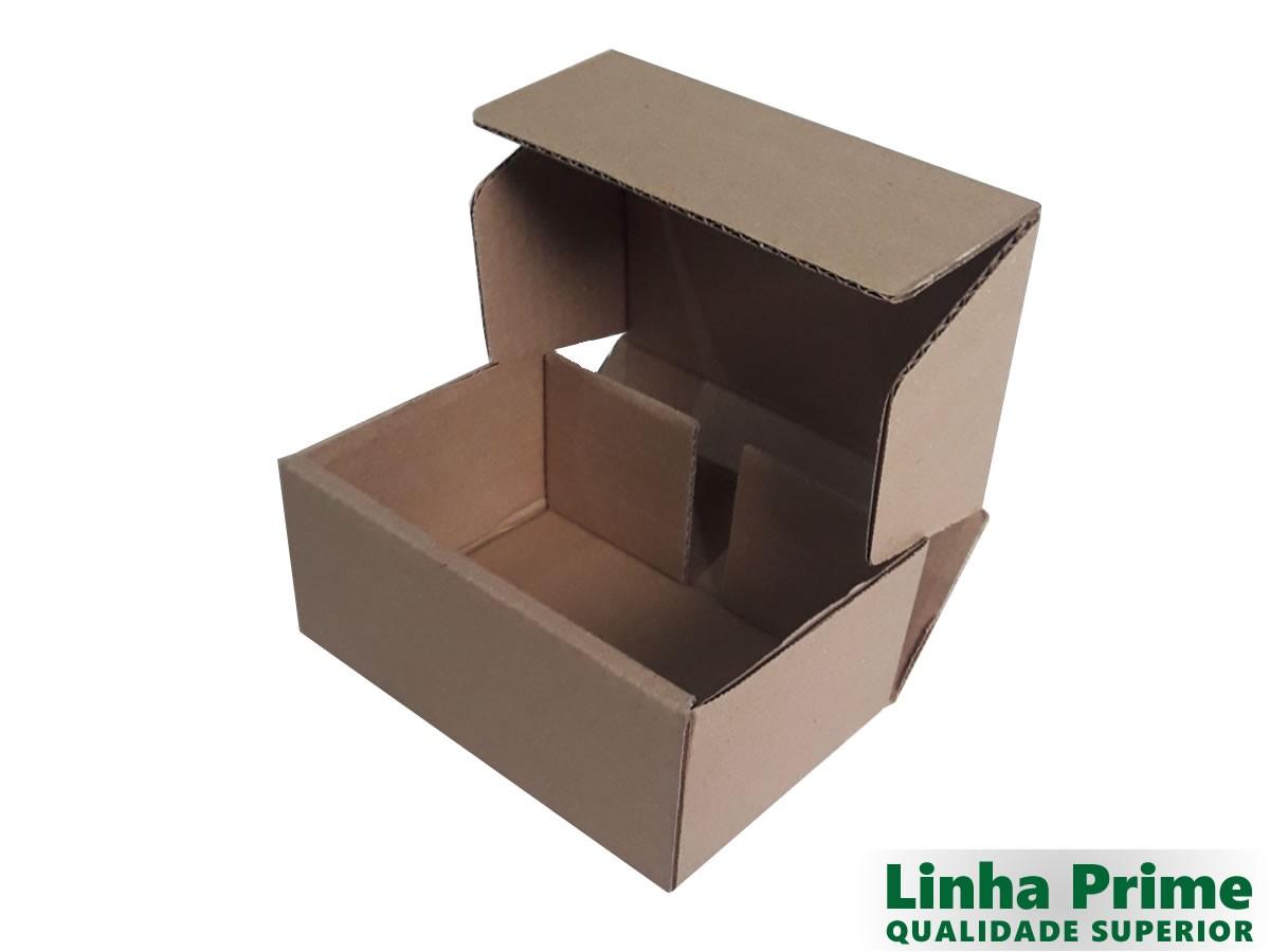 25 Caixas de papelão 16x11x7 cm LINHA PRIME