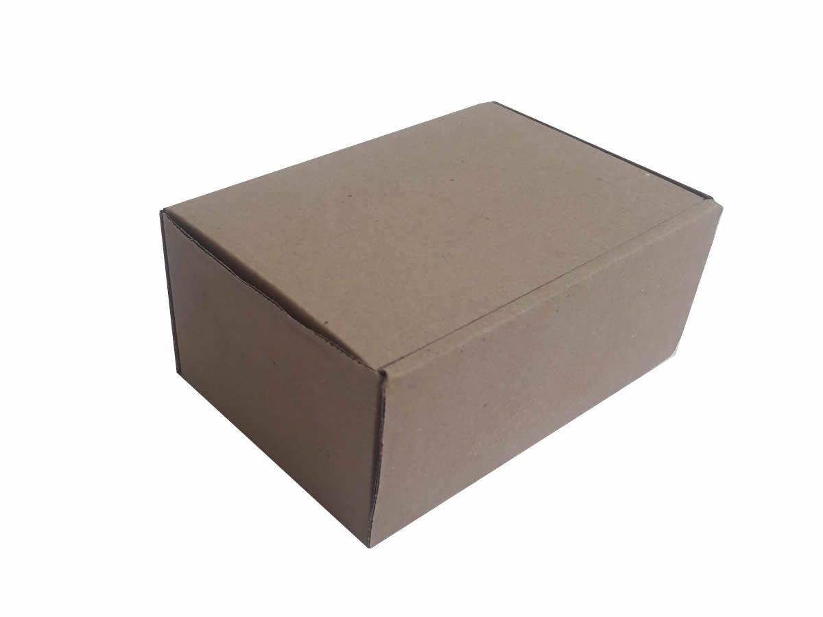 25 Caixas de papelão 16x11x7 cm para correio e transportes