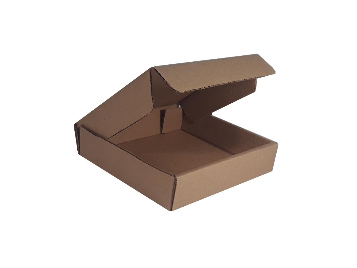 25 Caixas de Papelão 16x14x3,5 cm | LINHA BÁSICA