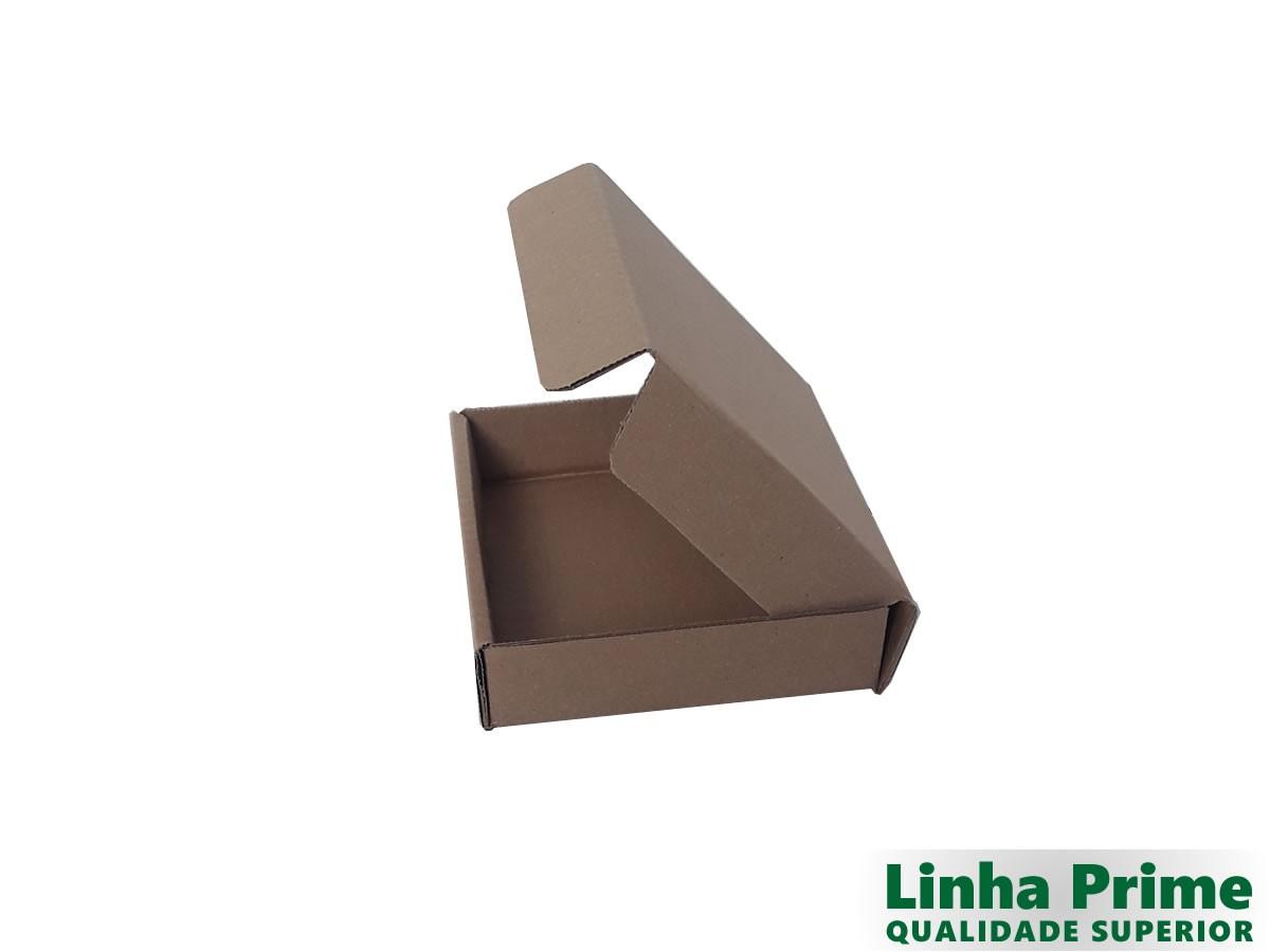 25 Caixas de Papelão 16x14x3,5 cm LINHA PRIME