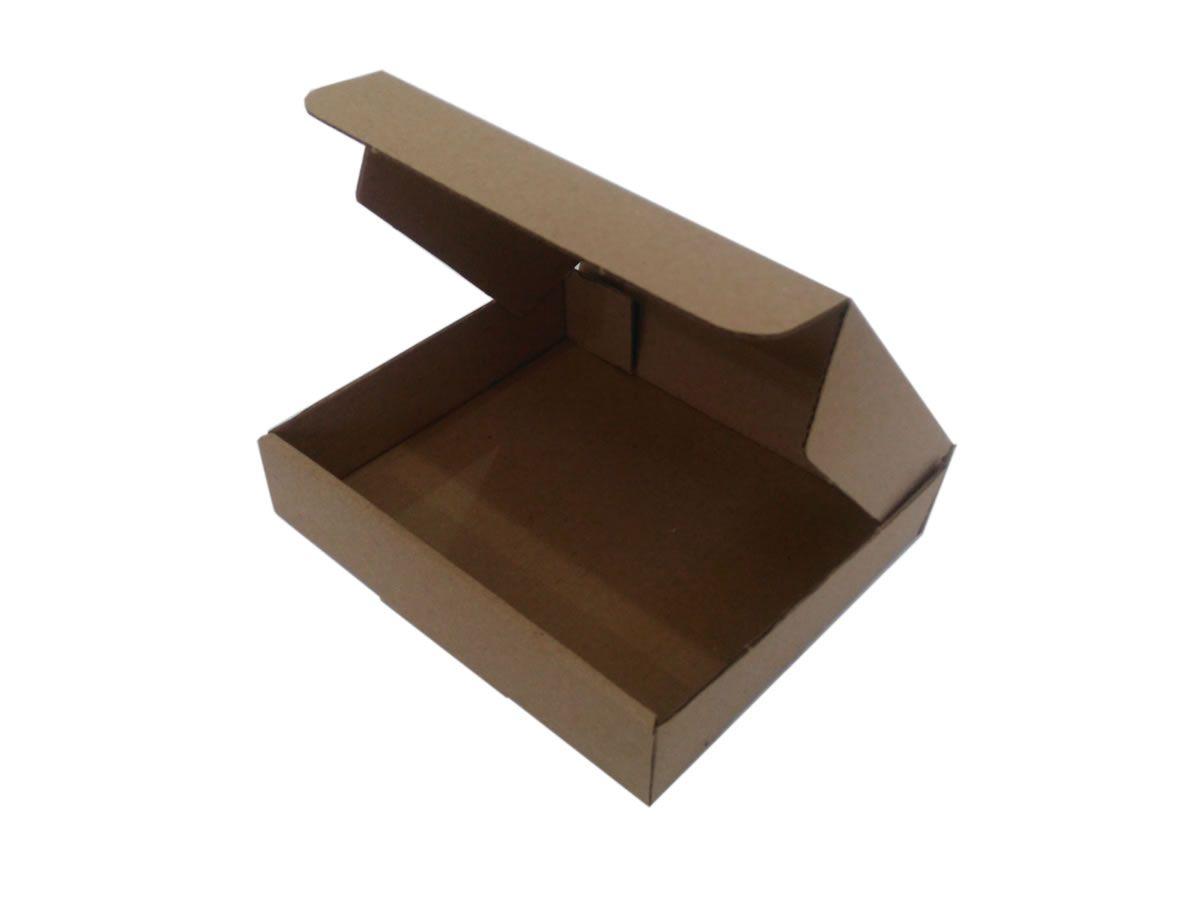 25 Caixas de Papelão 16x14x3,5 cm LINHA COMUM