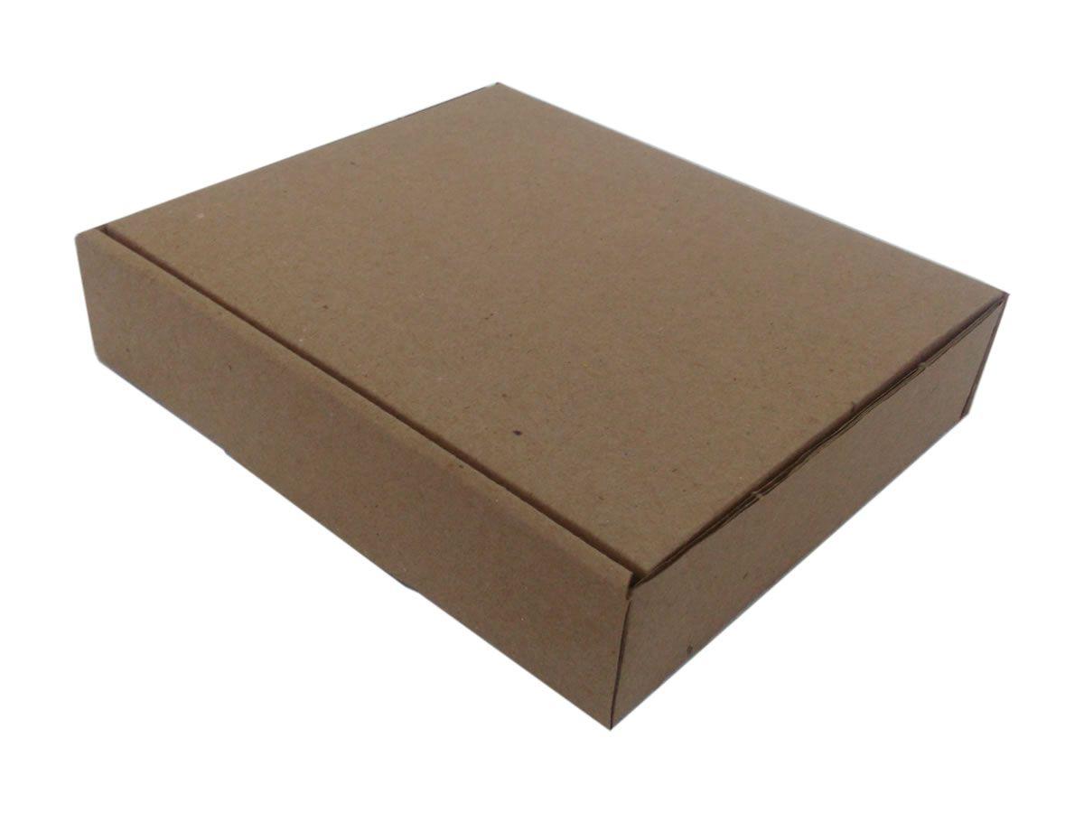 25 Caixas de Papelão 16x14x3,5 cm para correio e transportes