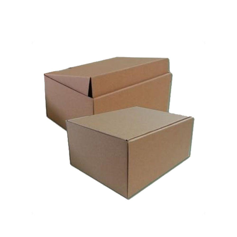 25 Caixas de Papelão 16x14x6,5 cm para correio e transportes