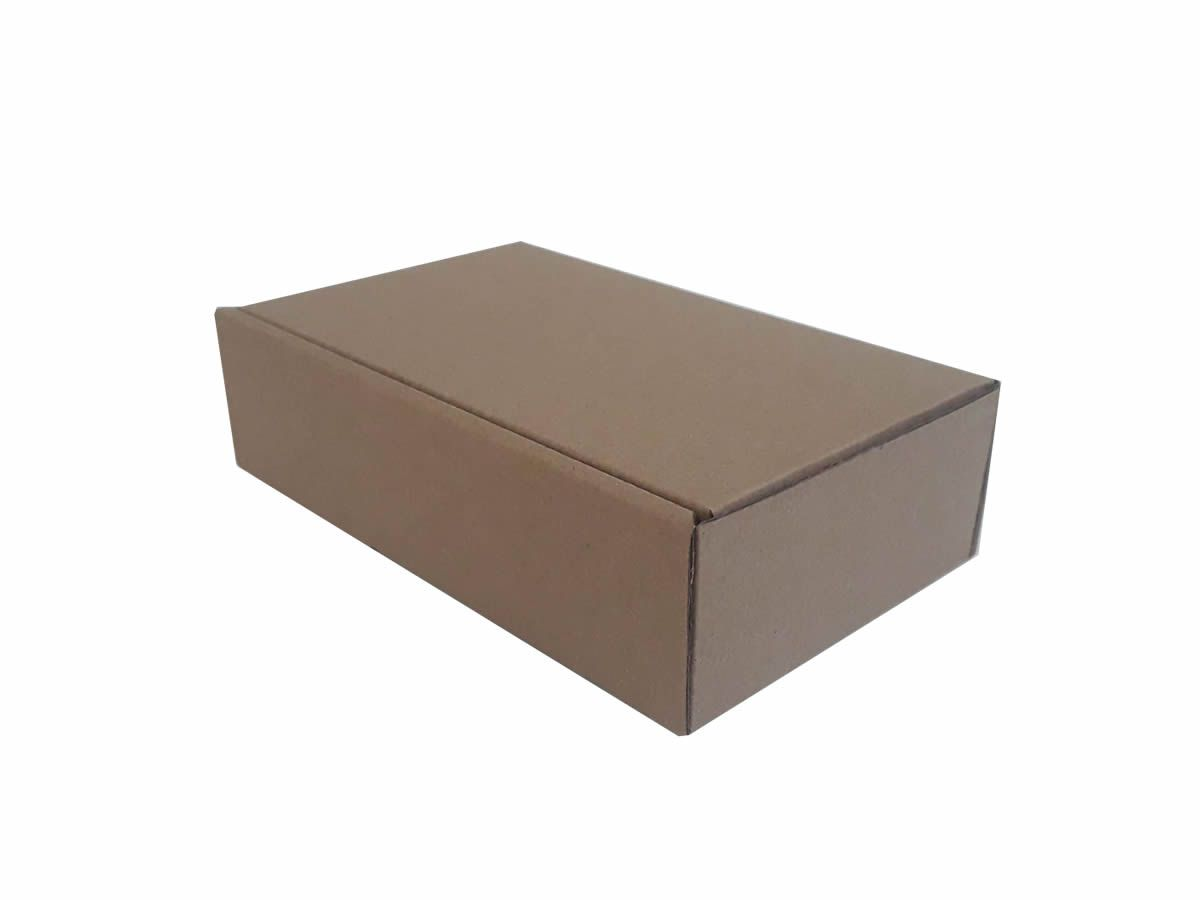 25 Caixas de Papelão 17x10x4,5 cm para correio e transportes