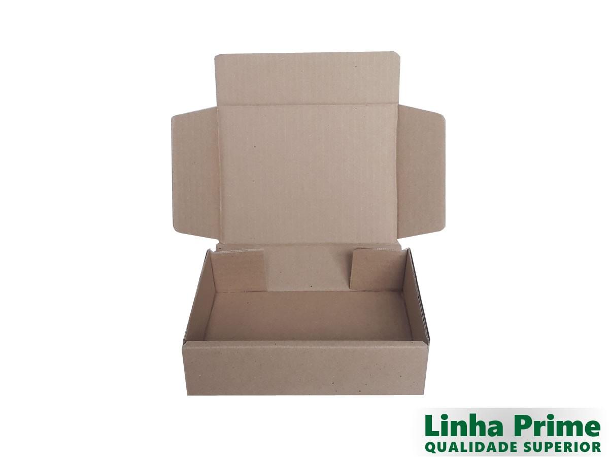 25 Caixas de papelão 18,5x14,5x5 cm LINHA PRIME