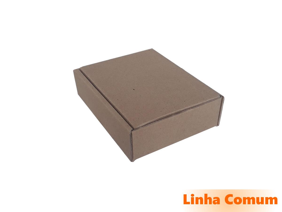25 Caixas de Papelão 18,5x14,5x5 cm LINHA COMUM
