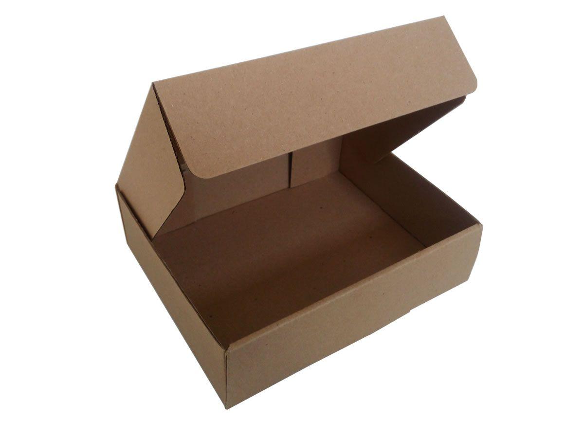 25 Caixas de Papelão 18,5x14,5x5 cm para correio e transportes