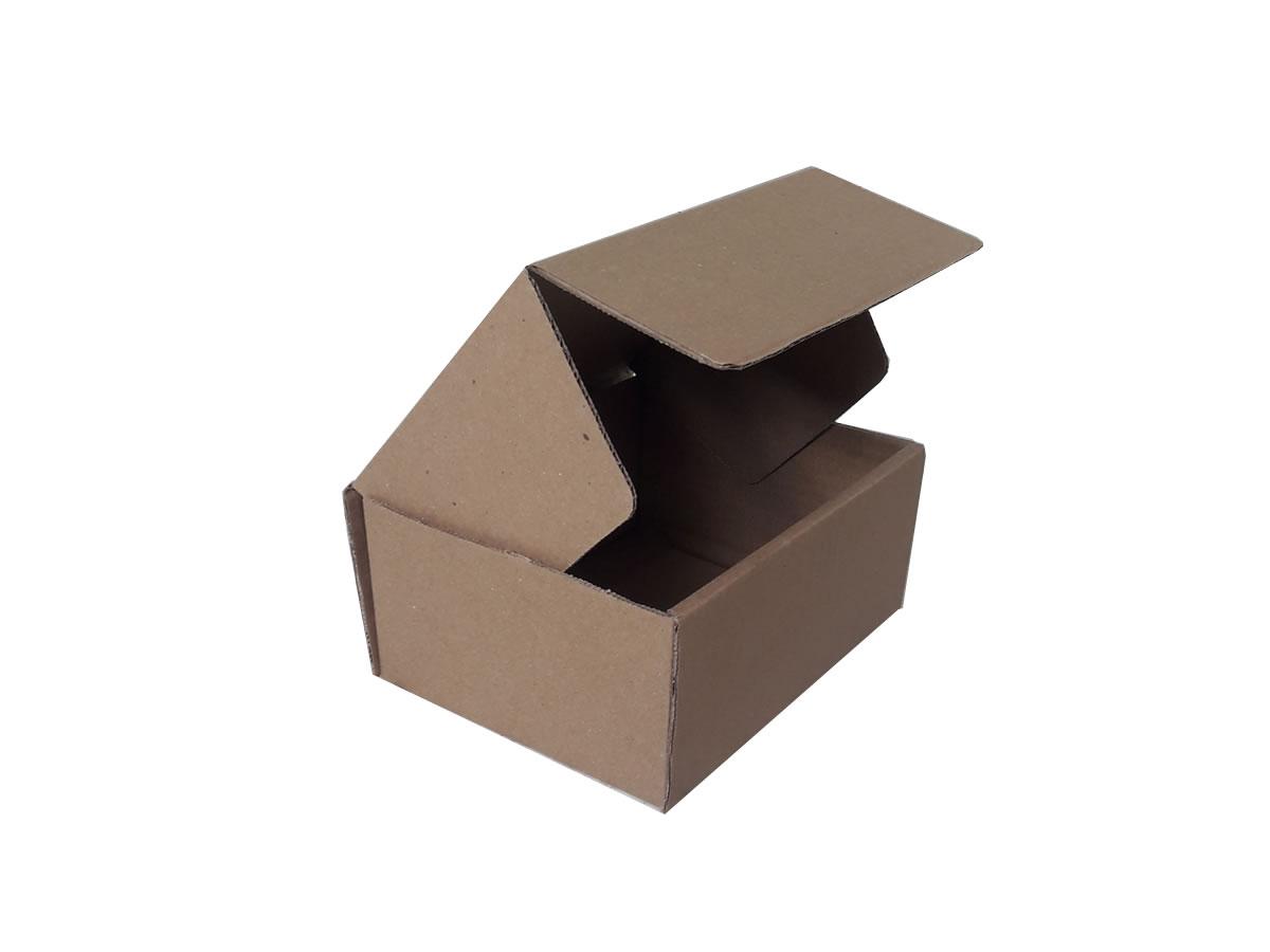 25 Caixas de papelão 18,5x14,5x8,5 cm LINHA COMUM