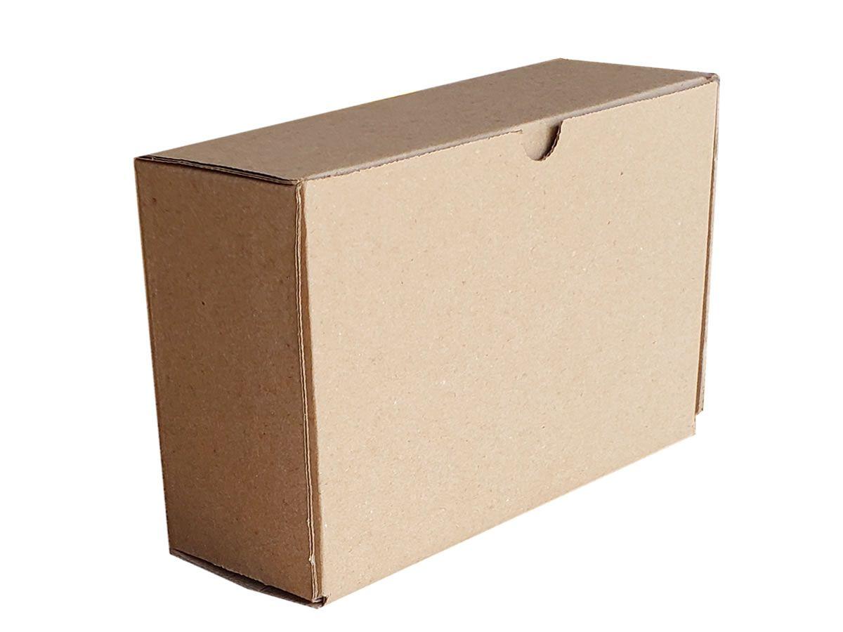 25 Caixas de Papelão 18x6,5x12 cm para correios e transportes