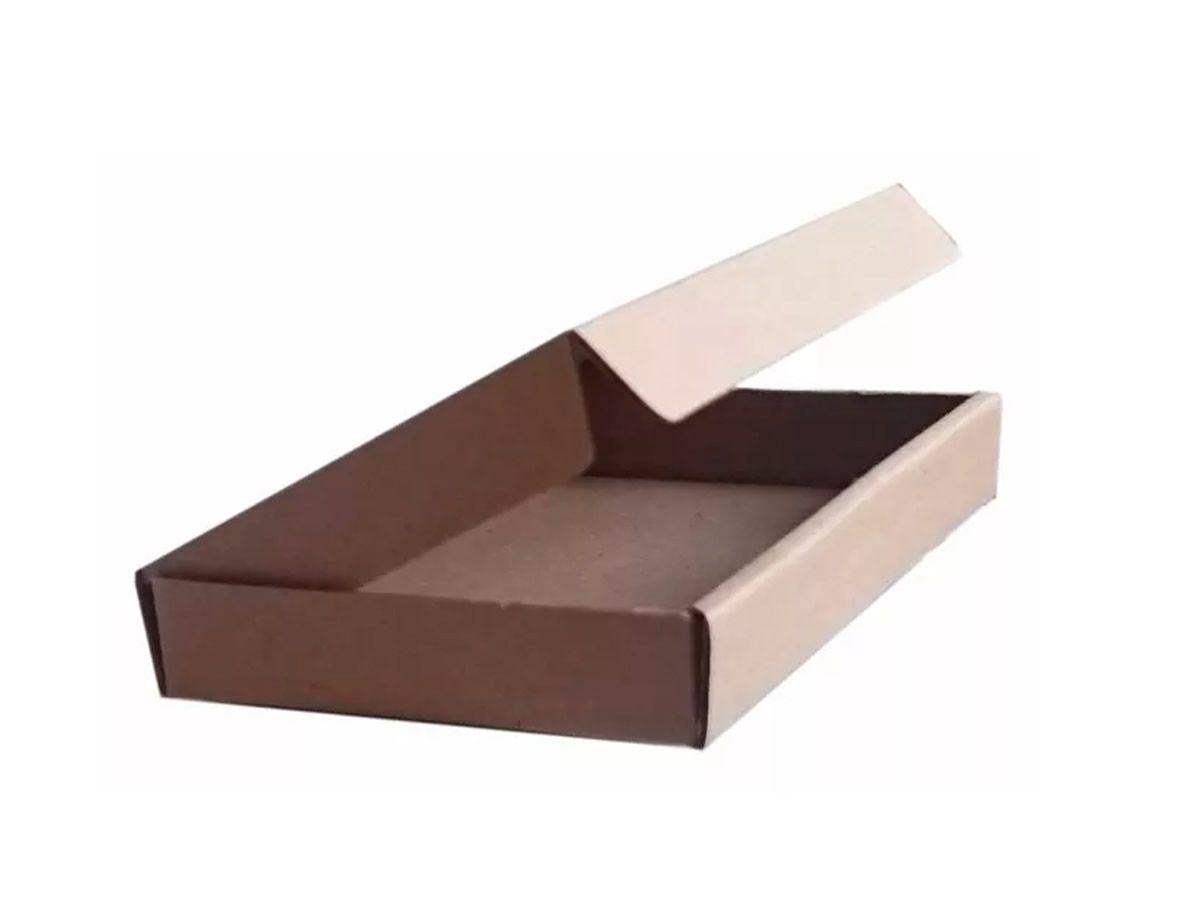 25 Caixas de Papelão 20x14,5x2,5 cm para correio e transportes