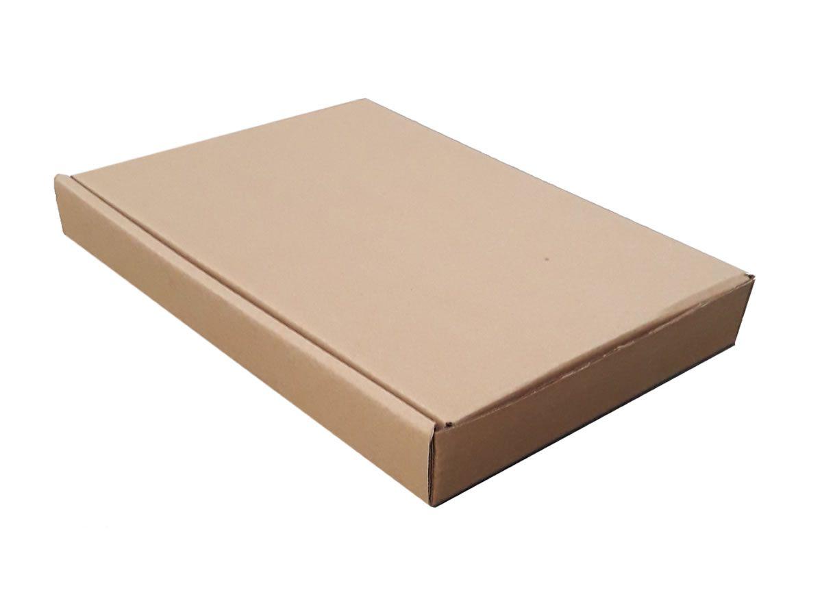 25 Caixas de Papelão 20x14,5x3 cm para correio e transportes