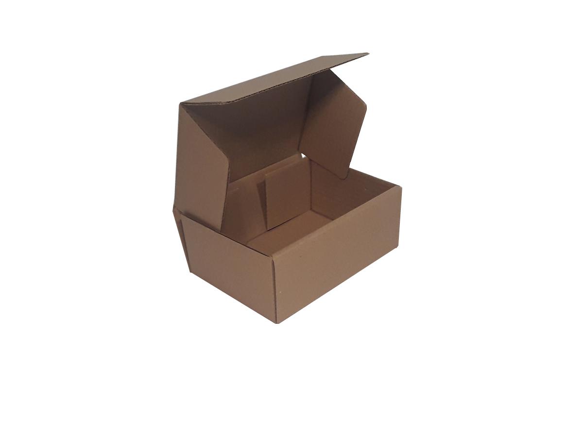 25 Caixas de Papelão 20x14x8 cm | LINHA BÁSICA