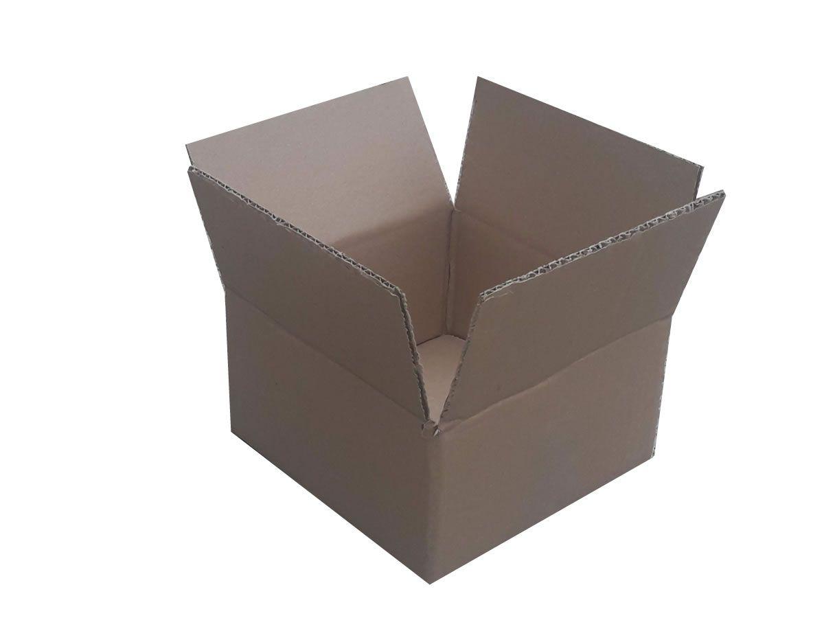 25 Caixas de papelão 20x20x10 cm para correios e transportes