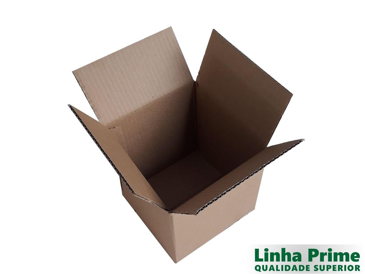 25 caixas de papelão 20x20x20 cm LINHA PRIME