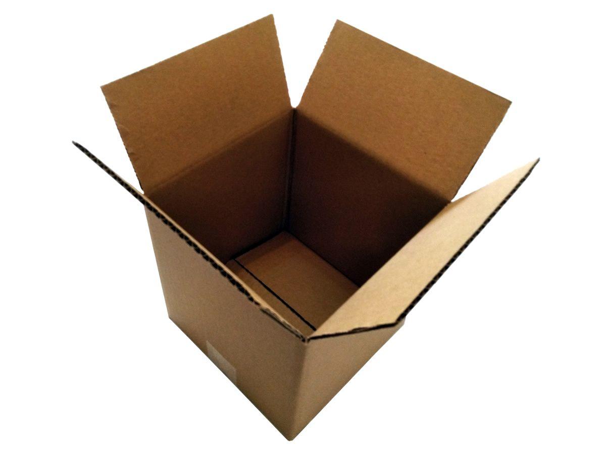 25 Caixas de papelão 20x20x20 cm LINHA COMUM